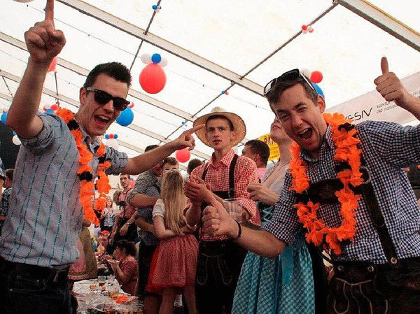 Ausgelassene Stimmung herrschte beim Schupfart-Festival.