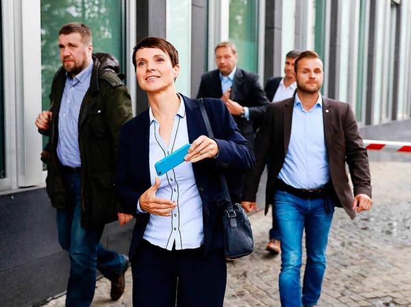 12,6 Prozent hat die AfD geholt - für die rechtspopulistische Partei ist das ein gutes Ergebnis.