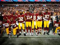 Trump befeuert Proteste von Football-Spielern