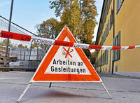 Große Gasleitung erst leck, jetzt wieder abgedichtet – Rotteckring großräumig abgesperrt
