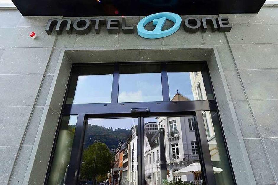 Impressionen vom BZ-hautnah-Rundgang durch das neue Motel One am Siegesdenkmal (Foto: Ingo Schneider)