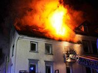 Großbrand in der Innenstadt von Villingen-Schwenningen