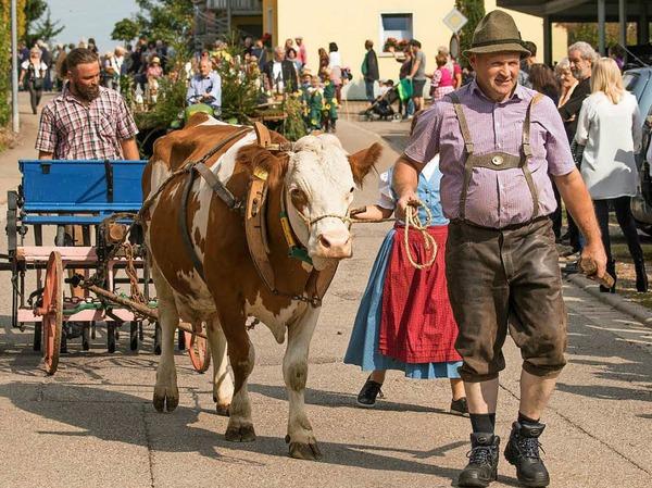 Das Erntedankfest in Berau gestaltete sich vielfältig.