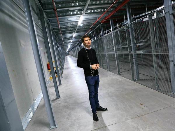 Zalando in Lahr: Bilder vom Tag der offiziellen Eröffnung des neuen Logistikzentrums.