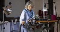 Wie eine alte Industriehandstrickmaschine ein Revival feiert