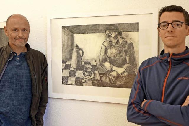 Ausstellung im Ibenthaler-Haus zeigt Kohlebilder