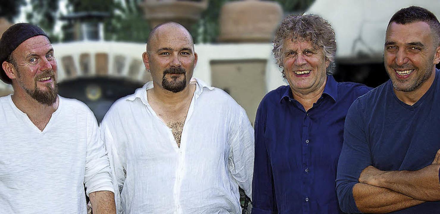 Mad Kitchen (von links): Eric Frerejac...pard, Norbert  Roth und  Lionel Turco   | Foto: Pro