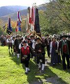 Südtiroler aus vier Ländern feiern