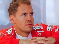 Vettel rast vom letzten auf den vierten Rang