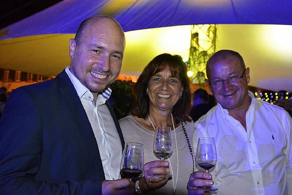 Offenburg hat gute Tropfen, weiß auch Geschäftsführer Christian Gehring, Geschäftsführer der Weinmanufaktur Gengenbach-Offenburg (links). (Foto: hrö)