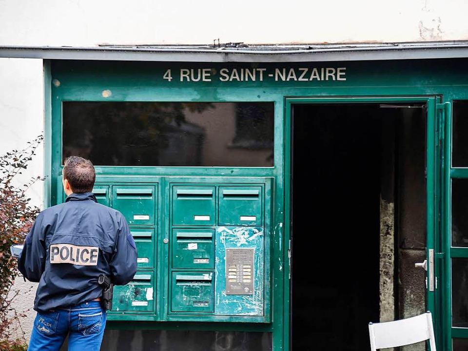 Die Rue Saint-Nazaire liegt in einem Sozialviertel mit hohem Ausländeranteil.    Foto: AFP