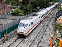 Zugbetrieb auf der Rheintalbahn läuft nach sieben Wochen Sperrung wieder
