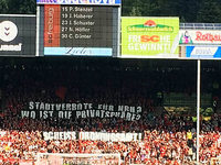 Amt sperrt 15 Ultras aus – Protest im SC-Stadion