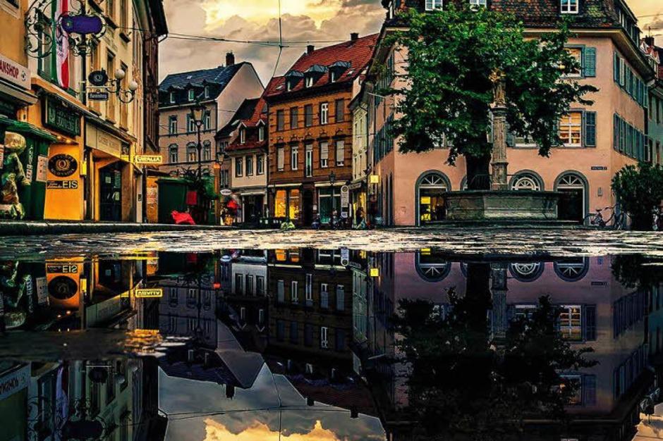 Kategorie Stadt: Oberlindenspiegel (Freiburg) (Foto: Alexandre Goebel)