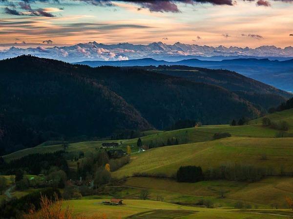 Kategorie Land: Fernsichten im Schwarzwald (Schopfheim)
