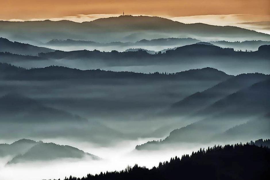 Platz 3 in der Kategorie Land: Blick vom Kandel nach Südwesten (Kandel) von Christian Bartoschek (Foto: Christian Bartoschek)