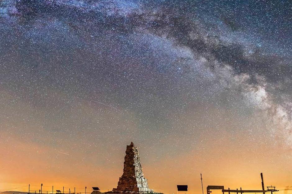 Kategorie Land: Milchstraße über dem Feldberg von Dominik Sackmann (Foto: Dominik Sackmann)