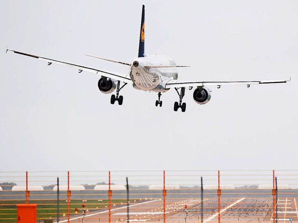 Am Flughafen in Hannover merken die Piloten die Sturmböen besonders.