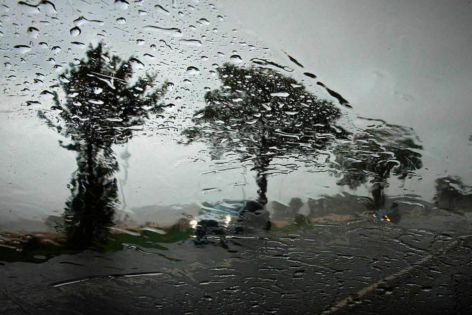 Sturmtief Xavier zieht mit starken Sturmböen über Teile Norddeutschlands hinweg. (Foto: dpa)