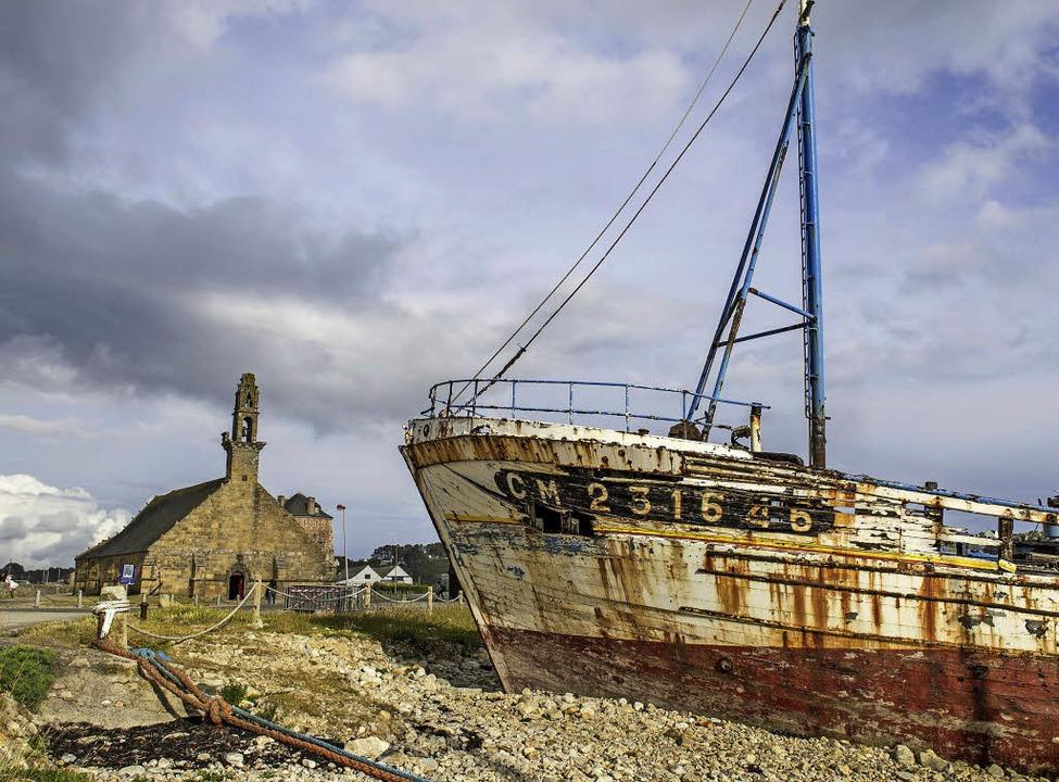 Verblasste Schönheit: Boote in Camaret-sur-Mer    Foto: A. Schiffner (2)
