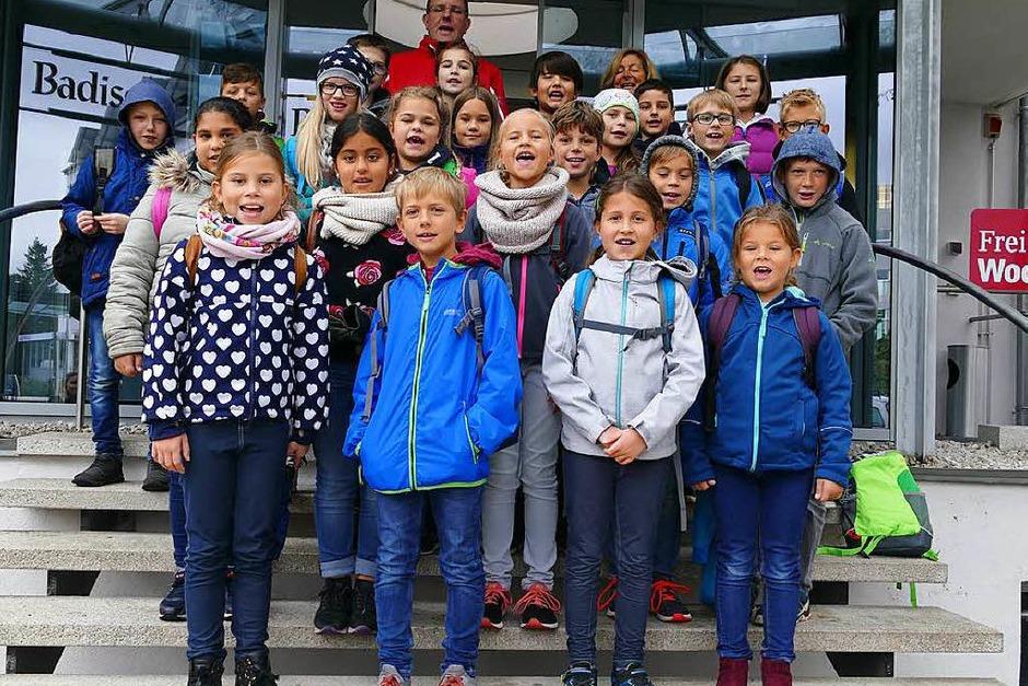 Klasse 4 der Staufenberg-Schule in Durbach (Foto: Hannah-Milly Bühler)
