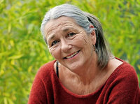 Birgit Vanderbeke liest in der Rainhof-Scheune