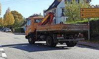 Lkw-Verkehr wächst bedrohlich