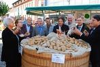 Härdepfl, ein toller Markt, Blasmusik und Fanfaren