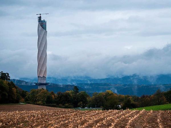 Monumental: der Testturm