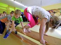 Im FT-Sportkindergarten wird gespielt und geschwitzt