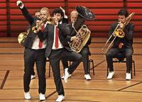Blechbläserquintett Canadian Brass begeistert im Lörracher Burghof