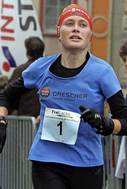 Marathon-Siegerin: Stefanie Doll  | Foto: Dieter Reinhardt