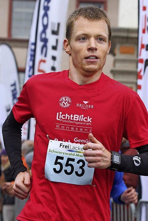 Marathon-Sieger: Jens Ziganke  | Foto: Dieter Reinhardt