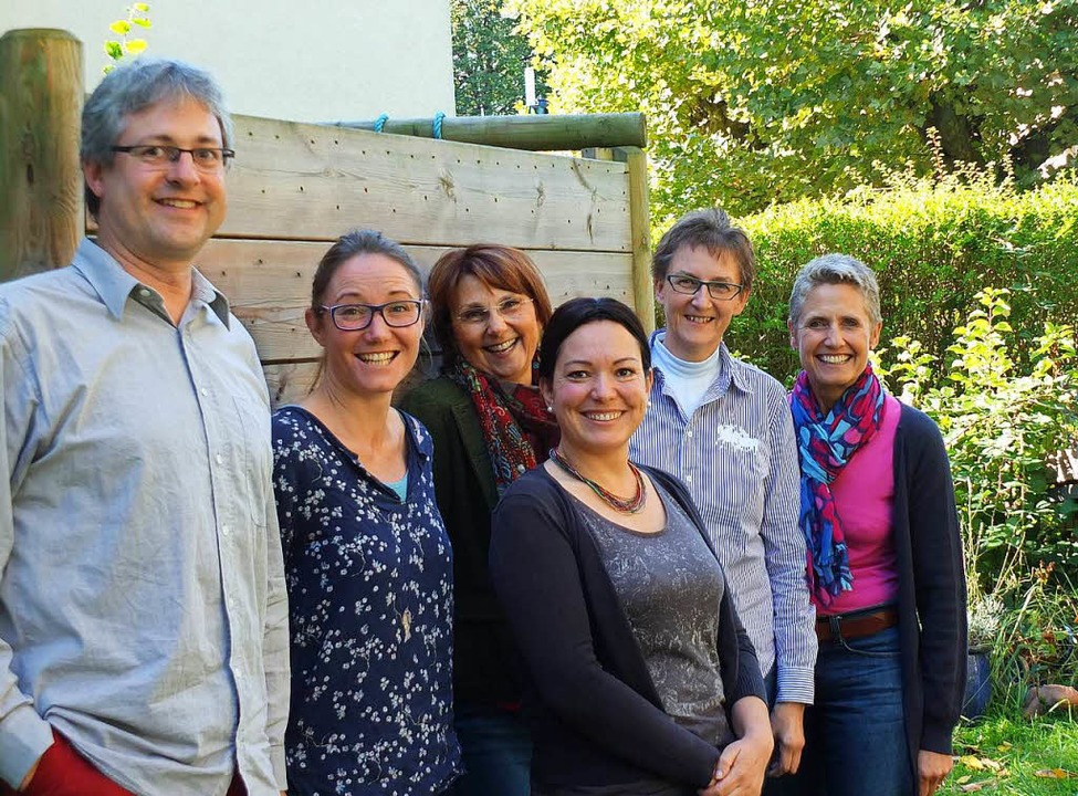 Jörg Hinderer,  Lucia Klein, Melina Ma...und Christina Meinzer-Folk (von links)  | Foto: Martina David-Wenk