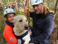 Wie Rettungshunde in Hartheim für den Ernstfall üben