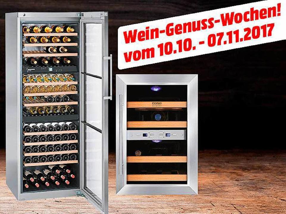 Die Wein-Genuss-Wochen im Media Markt in Freiburg    Foto: Media Markt
