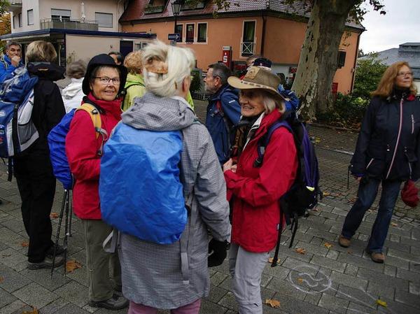 Von Badenweiler auf den Blauen und wieder zurück - von dieser Tour ließen sich die BZ-Wanderer auch vom Regen nicht abhalten.