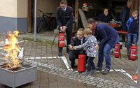 Feuerwehr Köndringen lädt zur Übung mit neuem Firetrainer ein