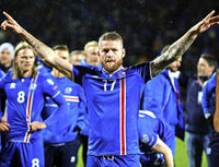 Island erstmals bei einer Fußball-WM dabei