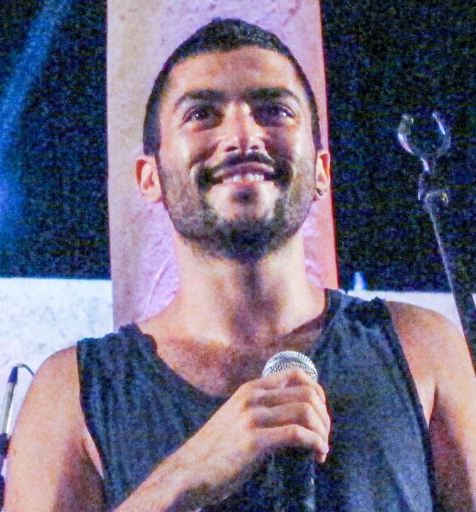 Sänger Hamed Sinno     Foto: dpa