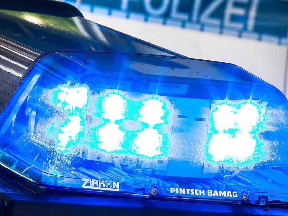 Ein ungewöhnlicher Polizeieinsatz am D...33 zwischen Ortenberg und Elgersweier.  | Foto: dpa