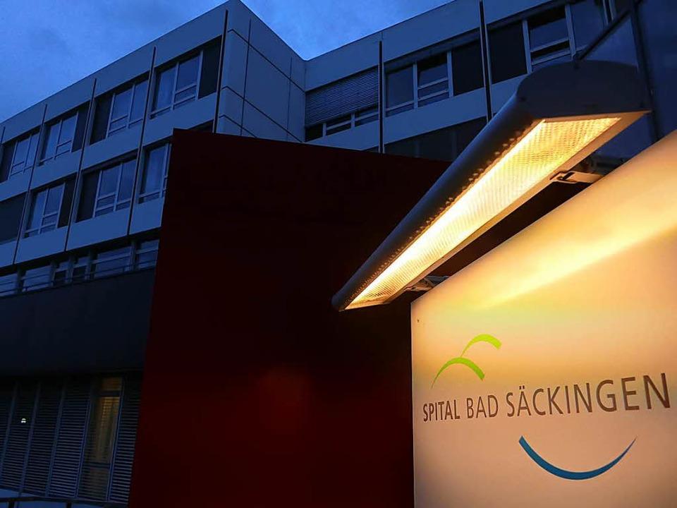 Die Zukunft des Spitals Bad Säckingen ist weiter ungewiss.  | Foto: Manuel Fritsch