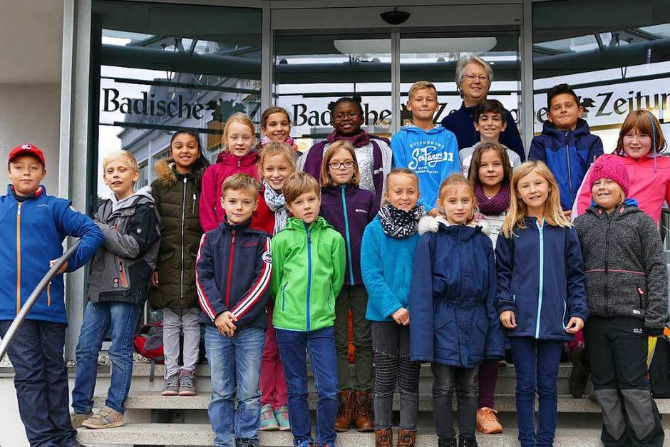 Klasse 4b der GWRS in Kippenheim-Mahlberg (Foto: Sabrina Böttcher)