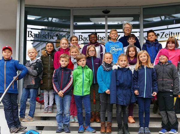 Klasse 4b der GWRS in Kippenheim-Mahlberg