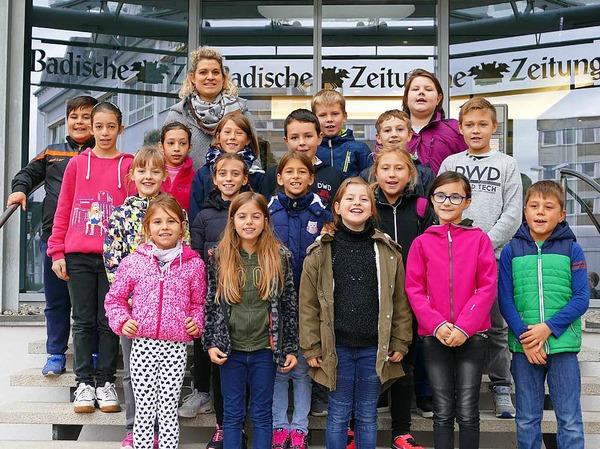 Klasse 4a der GWRS in Kippenheim-Mahlberg