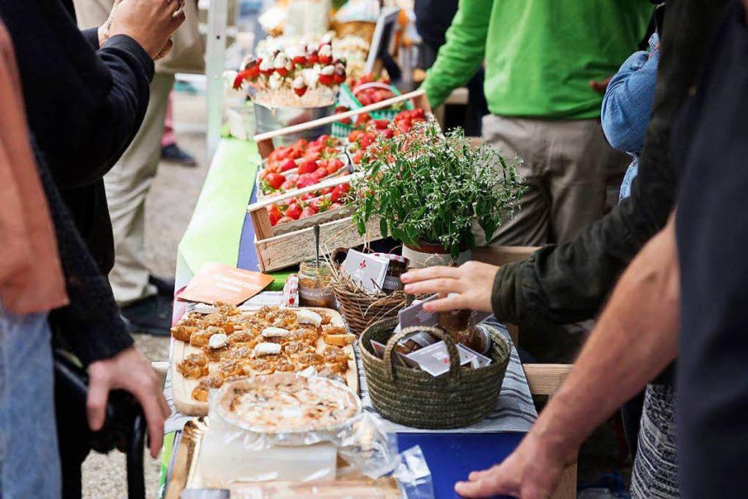 Beim Herbstfest der Marktschwärmer gibt es Produkte, Verkostungen und Vorträge.  | Foto: Veranstalter