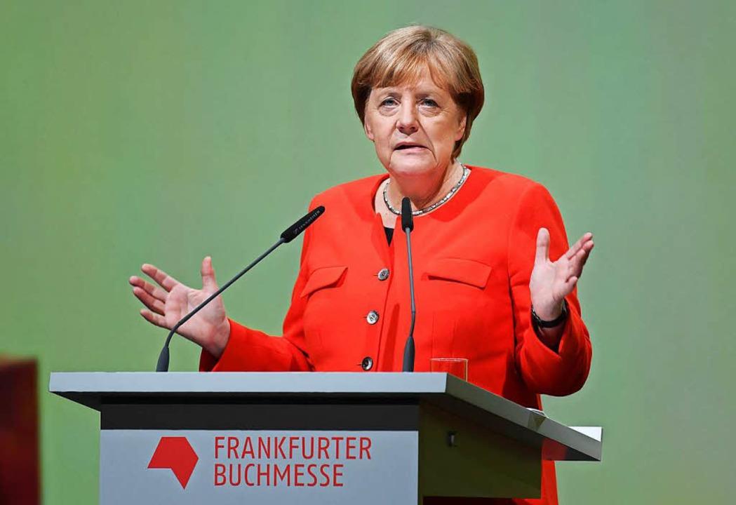 Angela Merkel.  | Foto: dpa