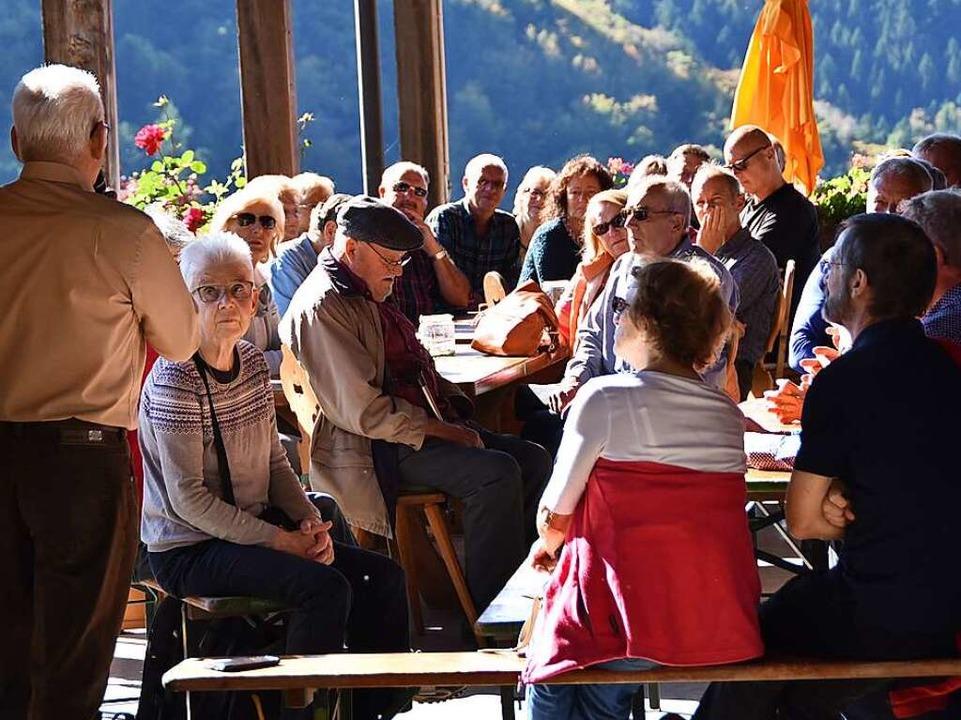 Rund 50 Leser kamen zu der Veranstaltung auf dem Dilgerhof.  | Foto: Max Schuler