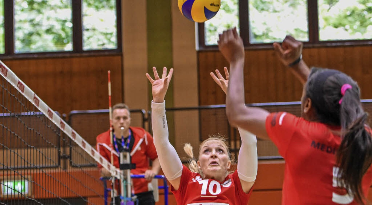 Konzentration und Präzision sind bei Z...ardner den Ball perfekt zu servieren.   | Foto: Sebastian Köhli
