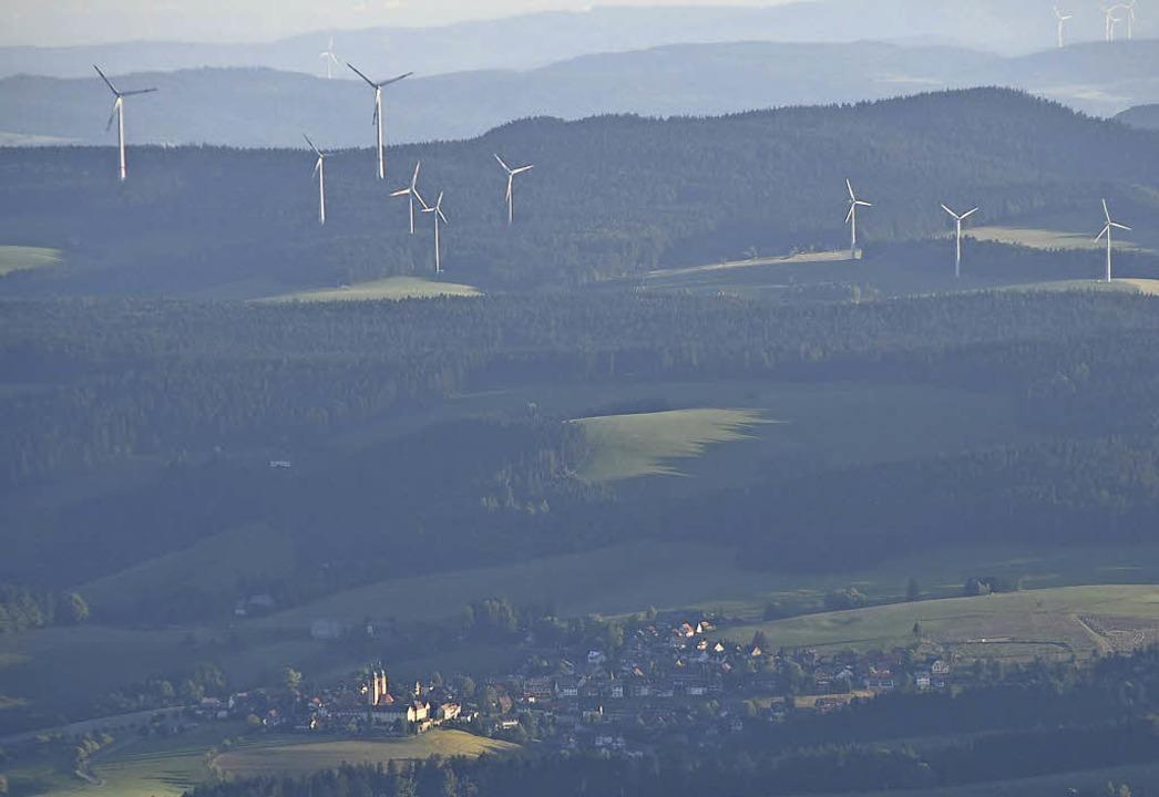 Hinter St.Märgen im Hochschwarzwald dr...räder. Genug, meint der Gemeinderat.    | Foto: Sebastian Wolfrum